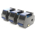 Optimail 25 / 30 / 35 FP Genuine BLUE 58.0034.3071.00 Francotyp Postalia Franking Ribbon Cartridge - 3 Pack